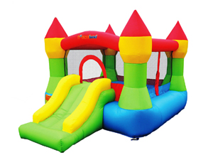 Castle Bounce N' Slide w/hoop Bounce House